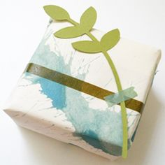 A fun tip to spruce up your gift packaging!