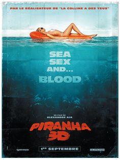 Affiche Piranha 3D