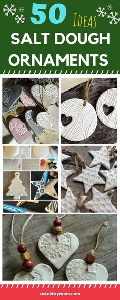 Salt Dough Ornaments, list of more than 50 ideas and recipe with step-by-step instructions. Christmas decorations designs, colors, arts and crafts.Embossed, pressed and imprinted all color ornaments for our Christmas trees. Christmas Decorations For Kids, Christmas Crafts For Kids To Make, Christmas Mom, Christmas Trees, Diy Ornaments For Kids, Christmas Activities For Adults, Pinterest Christmas Crafts, Childrens Christmas Crafts, Homemade Xmas Decorations