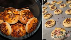 26 best recipes for New Year 's Eve, sticks and rolls NejRecept. New Year's Food, Good Food, Fast Dinners, Cooking With Kids, Scones, Bakery, Food And Drink, Rolls, Appetizers