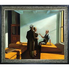 La Pastiche Edward Hopper 'Conference at