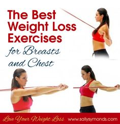 The Best Weight Loss Exercises for Breasts and Chest - Sally Symonds
