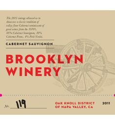 2011 Brooklyn Winery Napa Valley Cabernet Sauvignon 750 mL >>> Find out more about the great product at the image link.  This link participates in Amazon Service LLC Associates Program, a program designed to let participant earn advertising fees by advertising and linking to Amazon.com.
