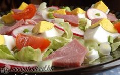 Húsvéti maradékmentő saláta recept fotóval Fruit Salad, Potato Salad, Potatoes, Ethnic Recipes, Food, Meal, Potato, Eten, Fruit Salads