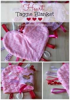 So I'm paying it forward, and making these homemade heart taggie blankets as my first of many homemade gifts for other little ones. Autumn Summer, Winter Christmas, Fabric Crafts, Sewing Projects, Clothes Crafts, Sewing, Costura