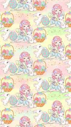 Easter Wallpaper, Phone Wallpapers, Holi, Backgrounds, Iphone, Spring, Anime, Art, Activities