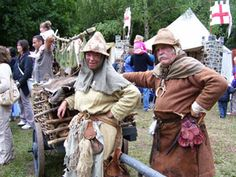 The Ratcatcher and His Wife at the 2006 Robin Hood Festival