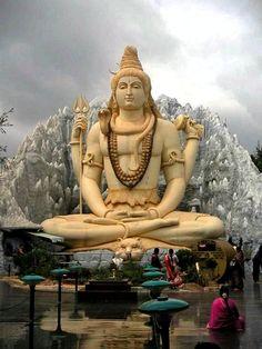 giant statue of shakti   Shiva   myownashram