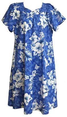 99cb241dddaa Made in Hawaii clothing, Red, Yellow Plumeria Hawaiian MuuMuu ...