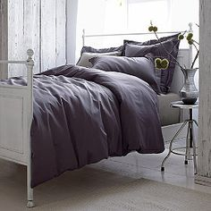 450-Thread Count Wrinkle-Free Solid Duvet Cover / Comforter Cover | The Company Store