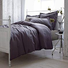 Wrinkle-Free Sateen Duvet Cover/Comforter Cover and Sham