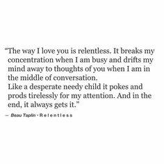 Beau Taplin | Relentless