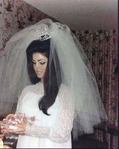 Priscilla Presley Wedding Lisa Marie Elvis And Young