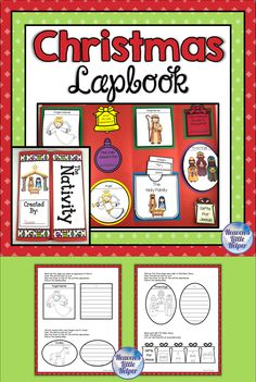 Help your students focus on the reason for the season with this fun, hands on printable Christmas Lapbook activity. Children will focus on the Nativity with short writing activities about the birth of Jesus. This is perfect for Advent in Sunday School, homeschool or Religious Education class. #HeavensLittleHelper #Catholic #CatholicKids #Advent #Christmas # Nativity #CCD #PSR #Jesus #Lapbook Catholic Religious Education, Catholic Crafts, Catholic Kids, Writing Activities, Activities For Kids, Birth Of Jesus, Christmas Nativity, Bible Stories, Christmas Printables