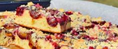 Lightning-fast cake with prunes (or with any fruit) Cheesecake, Top Recipes, Quiche, Banana Bread, French Toast, Cherry, Fruit, Breakfast, Desserts