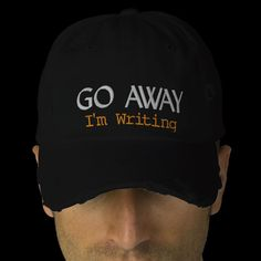 I might need this so when I really need to write I could put it on and let the hat talk for me when someone tries to talk to me.