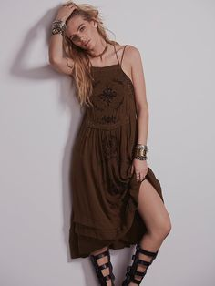 Free People Diamonds in the Sky Dress, $128.00 Deep inside, this is what I love.
