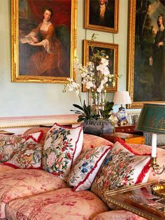 Althorp, the South Drawing Room – Home Decoration Style Cottage, Style Anglais, Home Decoracion, English Country Decor, Classic Interior, English Style, English House, French Style, Elegant Homes