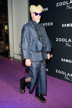 Will Ferrell au défilé organisé pour l'avant première de Zoolander 2