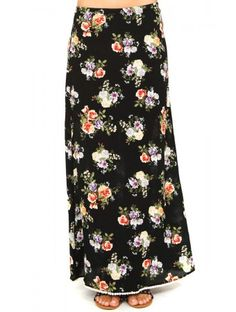 #Floral Happenings Maxi Skirt