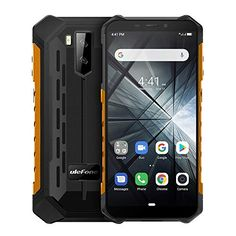 XUAILI Unlocked Smartphones Armor X3 Rugged Phone IP68 Waterproof Dustproof Shockproof 5.5 inch Android 9.0 Dual Back Cameras & Face Unlock (Color : Orange) Click the picture for more.. New 2020 Products Trends Phone Case Amazon Ebay Outdoor Handy, Orange, Bluetooth, Unlocked Smartphones, Back Camera, Android 9, Quad, Phone Cases, Iphone
