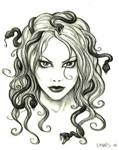 Lewis - Medusa ... I could see this as a tat ...
