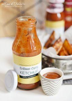 Erdbeer-Curry-Ketchup Rezept I BBQ I Grillen I Casa di Falcone