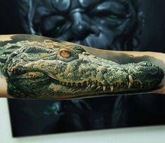 Realistic Animal Tattoo by Dmitriy Samohin | Tattoo No. 13885