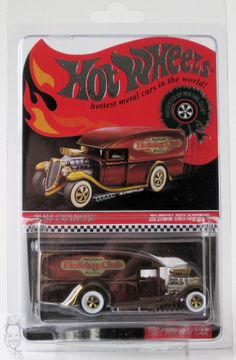 2012 Hot Wheels RLC Exclusive Holiday Car Blown Delivery 1706/5000
