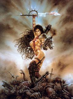 Luis Royo Fantasy Art Gallery | Luis Royo Posters Buy a Poster