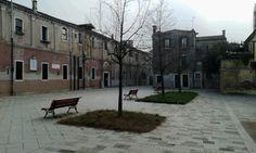 Campo della Celestia Tre panchine e tre alberelli. L'ultimo giro di ronda di Alfonso