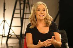 Rebecca Gibney: spokeswoman for Olay.