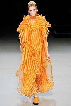 Poetic Candy Dresses in the Issey Miyake Fall 2009 Collection #dress #fashion trendhunter.com