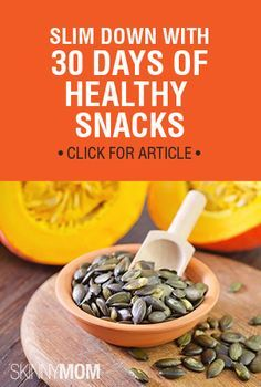 Need a snack? Choose from this list!