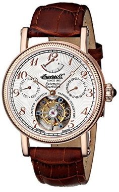 Ingersoll Men's IN5308RWH Raton Tourbillon Analog Display Automatic Self Wind Brown Watch Ingersoll http://www.amazon.com/dp/B00M6MTCFO/ref=cm_sw_r_pi_dp_5Zxjvb1AK5DBR