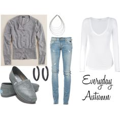 casual outfit Clothes  Outift for • teens • movies • girls • women •. summer • fall • spring • winter • outfit ideas • dates • parties Polyvore :) Catalina Christiano