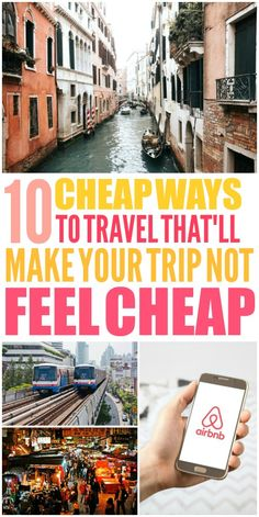 These 10 cheap ways to travel the world on a budget are THE BEST! I'm so happy I found these GREAT budget travel tips! Now I have some great budget travel ideas! Travel Deals, Budget Travel, Travel Destinations, Cheap Travel, Best Vacations, Vacation Trips, Vacation Ideas, Vacation Savings, Family Vacations