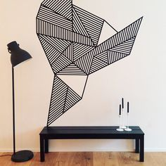 geometric tape art - Google Search