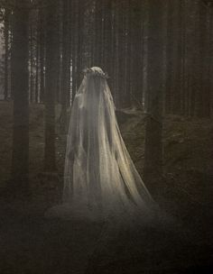 This is what I imagine the ghost looking like. The creepy setting has the same effect the play had. Creepy, Ghost Bride, Arte Obscura, Beltane, Dark Photography, Horror Photography, Halloween Photography, Beauty Photography, Photography Ideas
