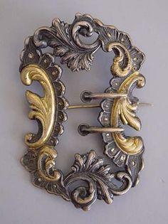 Victorian belt buckle