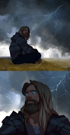 Viking Art — Every time I think I don't relate much to Thor, I… – Norse Mythology-Vikings-Tattoo Marvel Dc Comics, Marvel Memes, Hulk Marvel, The Avengers, Comic Anime, Comic Art, Hulk Comic, Die Rächer, Fanart