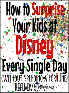 Although I think a trip to Disney World is treat enough ... there's no doubt it can be fun to add to the magic with little things.  Park souvenirs can cost a fortune ... so here are some suggestions on how to save money there!  Any ideas you would add to the list?