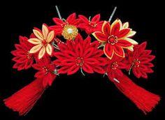 hair ornaments japanese - Google Search