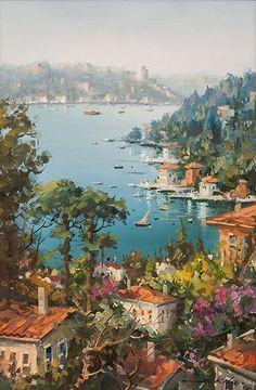 Turkish Painter Bülent Kılınç  1974-...