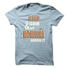 K eep Calm And Let MCMILLIAN Handle it TA001 - #tshirt no sew #cropped sweatshirt. MORE ITEMS => https://www.sunfrog.com/Names/K-eep-Calm-And-Let-MCMILLIAN-Handle-it-TA001-LightBlue-20915605-Guys.html?68278