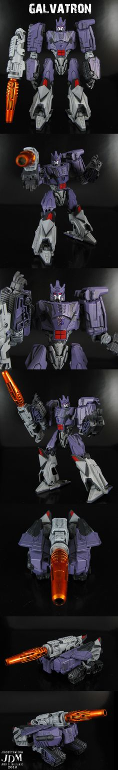 WFC Galvatron by *Jin-Saotome on deviantART