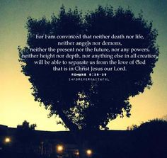 Whenever I hear anyone reading/quoting this verse, I always say it under my breath with them.