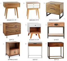 Best Mid Century Modern Nightstands Under 200 Diy Bloggers 400 x 300