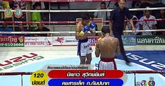 ศกจาวมวยไทยชอง3ลาสด  [T.K.O] คชสารเลก ก.กมปนาท VS นเชาว สวทยยมส 27/8/59 Muaythai HD http...