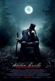 Abraham Lincoln Vampire Slayer is not good by any means, but also not as bad as I thought it'd be. #horror #abe #lincoln